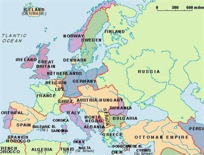 Europe before and after world war 1 before ww1 most of europe was part of the austria hungarian empire after ww1 austria hungary was broken up and new countries were created gumiabroncs Gallery